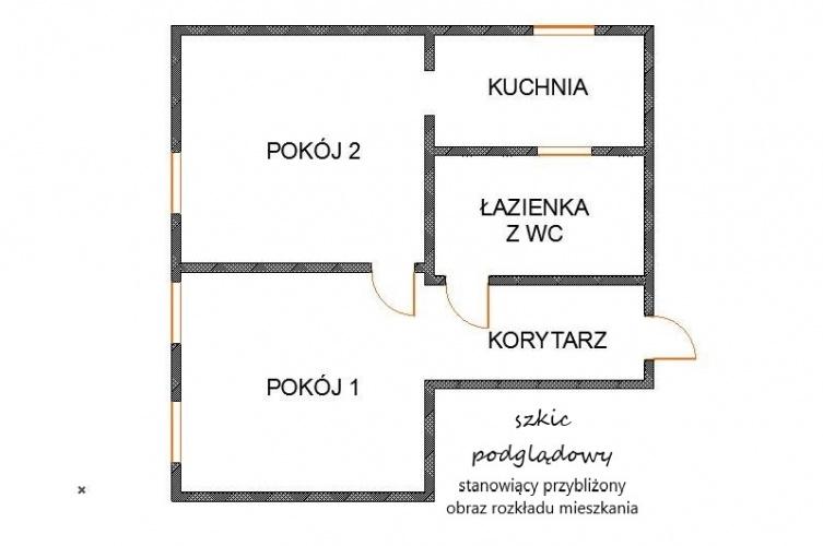 2 Rooms Rooms,Mieszkania - rynek wtórny,Sprzedaż,3224